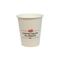 Թղթե բաժակ Սուրճը օգնում է ստեղծագործել